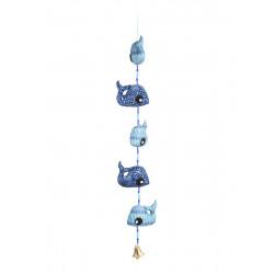 Le mobile clochette Baleines