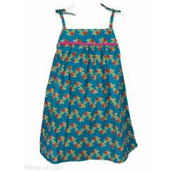 Robe coton Flores