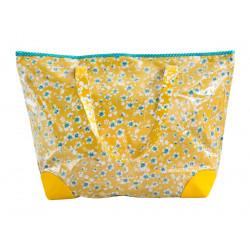Grand sac cabas Akiko Bouton d'or
