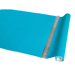 Tissu Simili cuir Turquoise