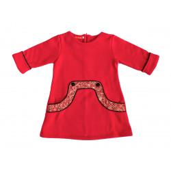 Robe Louisa Rouge Cerise