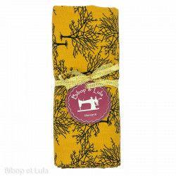 Coupon tissu Yellow Trees