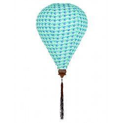 Lampion tissu montgolfière Spoutnik