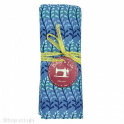 Coupon tissu Ada Blue