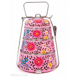 Lunch box inox peinte à la main Bareli