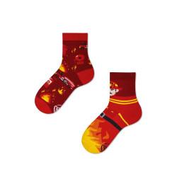 """Chaussettes """" Au feu les pompiers"""""""