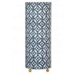 Lampe tube à poser Azulejos gris